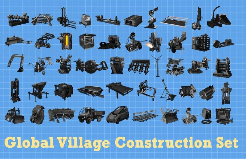 Bild aller 50 Open Source Maschinen im GVCS